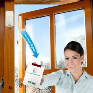 Cordless Door or Window Exit Alarm Complete System Packages
