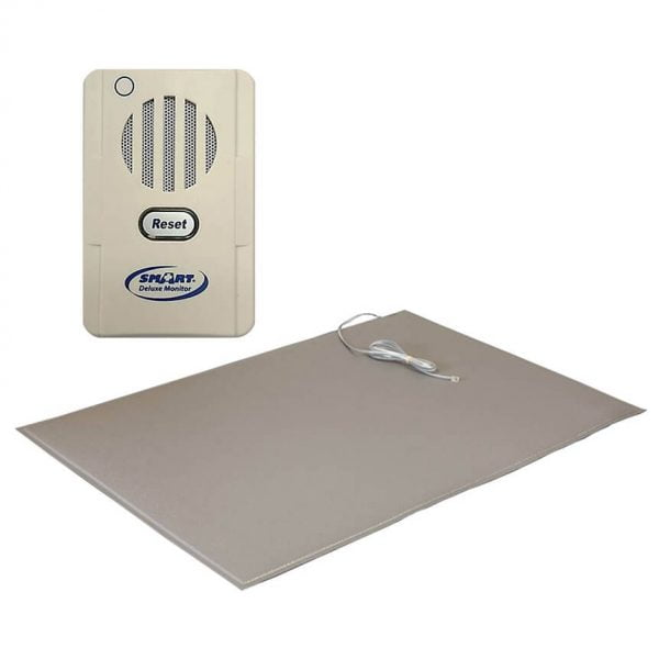 Floor Mat Alarm with 24″x36″ Corded Floor Mat by Smart Caregiver (5SFM5-SYS) Discount Alarms! Comes with Same Smart Caregiver Warranty