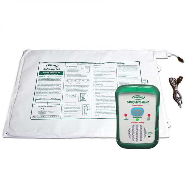 Wide Bed Exit Alarm System with Multiple Safety Features Complete System Packages