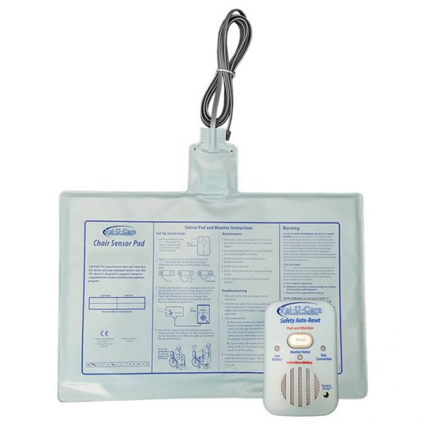 Val-U-Care Safety Monitor with Chair exit pad – Know When They Get Up! Discount Alarms! Comes with Same Smart Caregiver Warranty