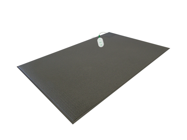 Pressure Sensing Floor Mat – Quiet, Wireless and CordLess 24″x48″ (Gray) Cordless Pads and Mats